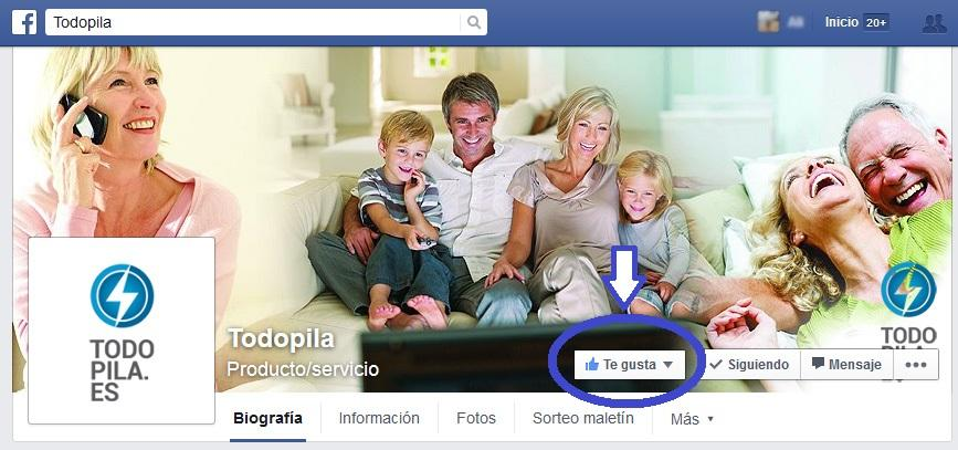 TodoPila Facebook